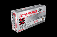 WINCHESTER .22-250 55G POINTED SOFT POINT