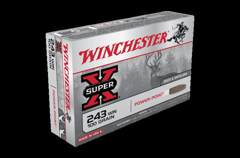WINCHESTER .243 100G POWER POINT