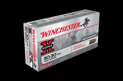 WINCHESTER .30-30 150Gn HOLLOW POINT