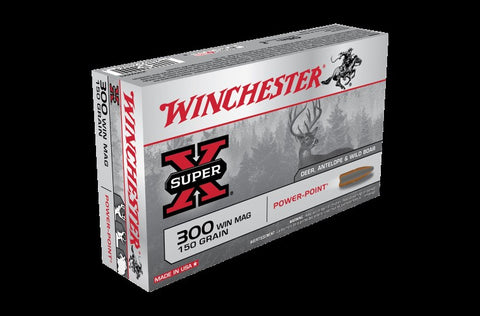 WINCHESTER .300WIN 150GN POWER POINT X30WM1