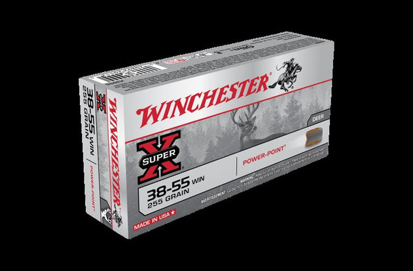 WINCHESTER .38-55 255GR POWER POINT