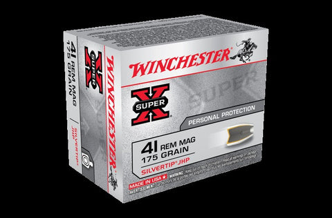 WINCHESTER .41M 175GN 20PK