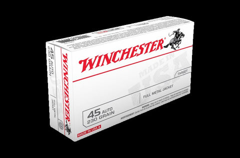 WINCHESTER .45ACP 230GN FMJ Value PACK