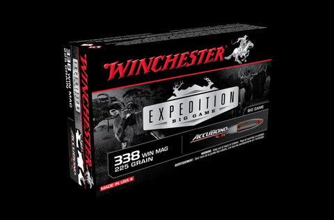 WINCHESTER .338WM 225GN EXPEDITION BIG Game ABCT S338CT