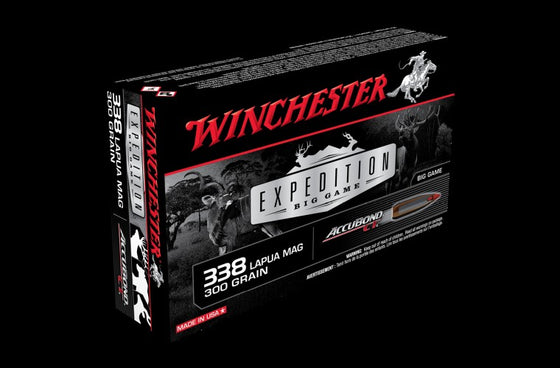 WINCHESTER .338LAP 300G ACCUBOND 20 PACK S338LCT