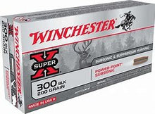 WINCHESTER .308 185GN SUBSONIC