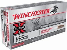 WINCHESTER .300BO 200GN SUBSONIC