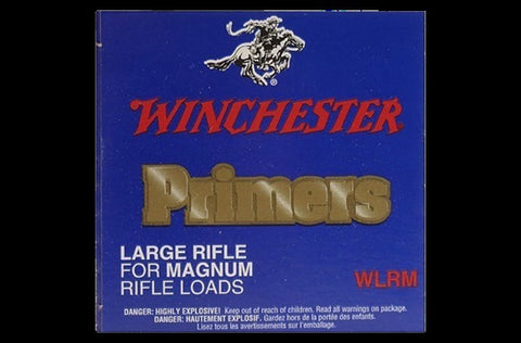 WINCHESTER PRIMER LARGE RIFLE MAGNUM