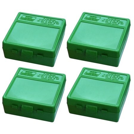 MTM .44 MAG 100 RD AMMO BOX GREEN