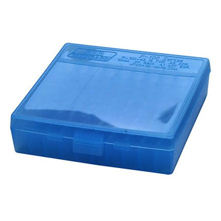 MTM .44MAG AMMO BOX 100 BLUE