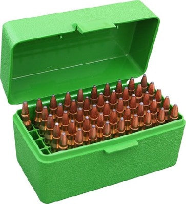 MTM RS 50 10 GREEN 50 ROUND 223 AMMO BOX