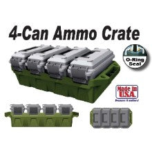 MTM 4 CAN AMMO Crate AC4C