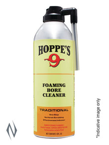 HOPPES NO 9 FOAMING BORE SOLVENT 12OZ HP908