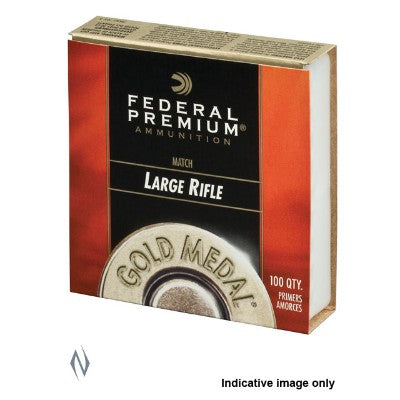 FEDERAL PRIMERS LARGE RIFLE MATCH GOLD Medal