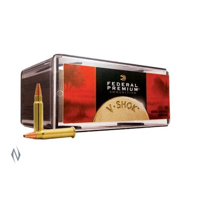FEDERAL .17HMR 17gn TNT HP V SHOK 50 Pack