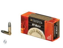 FEDERAL .22 GOLD Medal HV 1200FPS 50PK