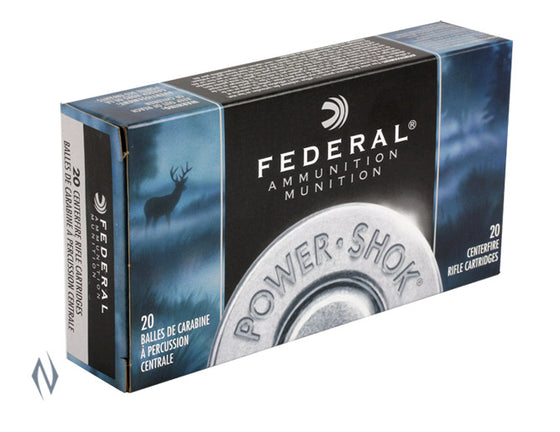 FEDERAL .308 180G SP POWER SHOK F308B