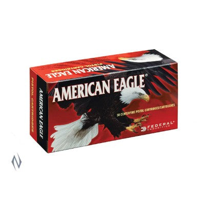 FEDERAL .357Sig 125G FULL Metal Jacket 50 PACK