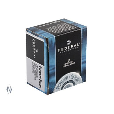 FEDERAL .44 MAG 180G JHP 20 PACK
