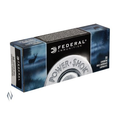 FEDERAL .338WM 225G SP POWER SHOK 20 PACK