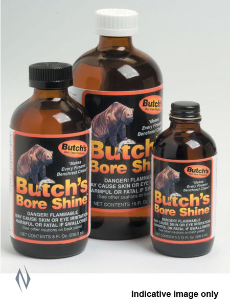 BUTCHS BORE SHINE 16 OZ