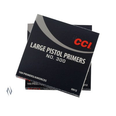 CCI PRIMERS LARGE PISTOL 300