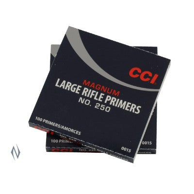 CCI PRIMERS LARGE RIFLE MAGNUM #250 C15