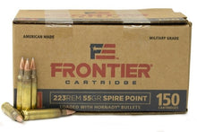 HORNADY .223 55GN SP 150PACK FRONTIER
