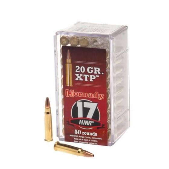 HORNADY .17HMR 20gn XTP Hollw POINT 50 PACK H83172