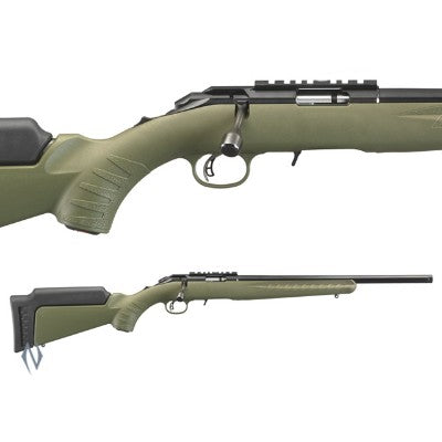 "Ruger American .22Wmr 18"" OD GREEN"
