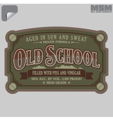 Mil Spec Monkey Old School Decal -