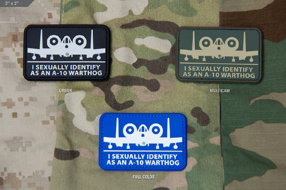 Mil Spc monkey A10 A-sexual Patch