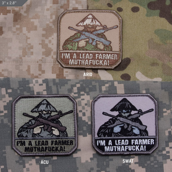 Mil Spec Monkey Lead Farmer Morale Patch