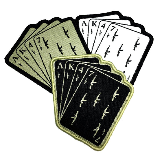Empire Tactical USA - AK47 Cards Black