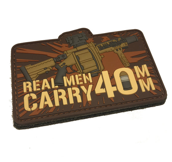 Empire Tactical USA - Real Men Carry 40MM Patch