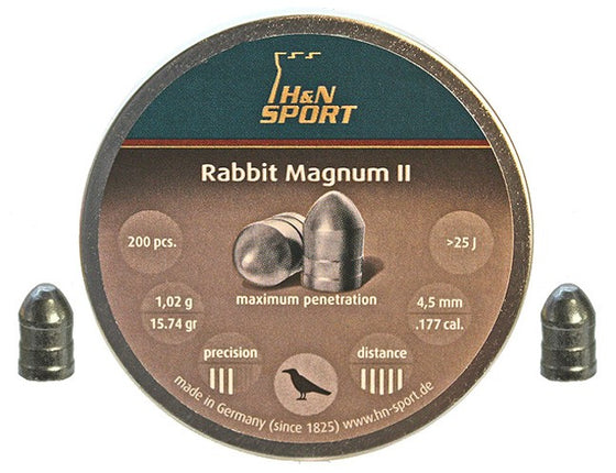 H&N .177 RABBIT MAG PELLETS