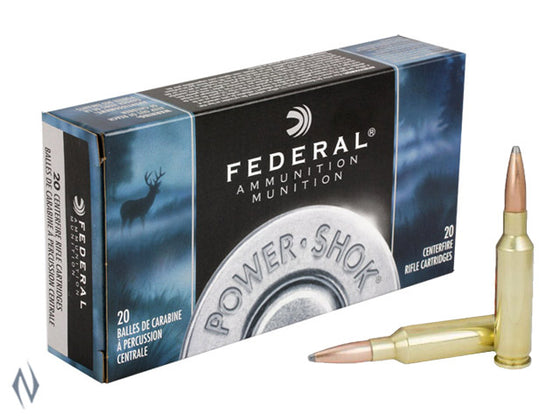 FEDERAL 6.5CM 140SP P/SHOK F65CRDB
