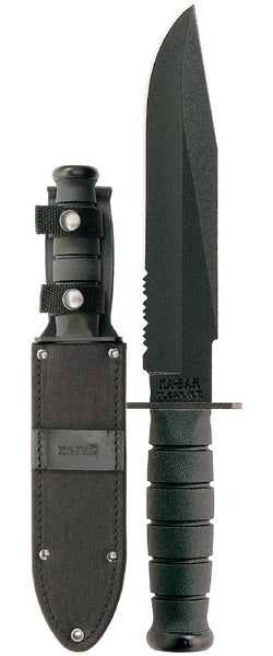 KA-Bar Fighter-Black Serr Cord Sheath