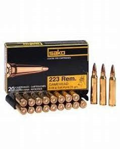 Sako .223 55gn Gamehead20Pack