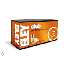 ELEY .22 CLUB 1070FPS