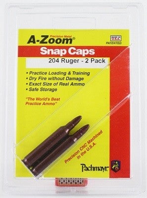 A-ZOOM .204 RUGER SNAP CAPS 12218