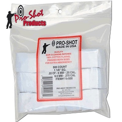 PRO SHOT 6MM- 270 CLEANING PATCH