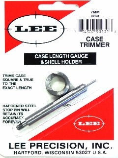 LEE 7-08 CASE LENGTH Gauge 7MM