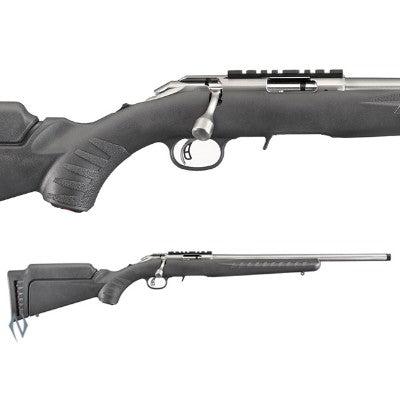 RUGER AMERICAN .17HMR STAINLESS SYNTHETIC
