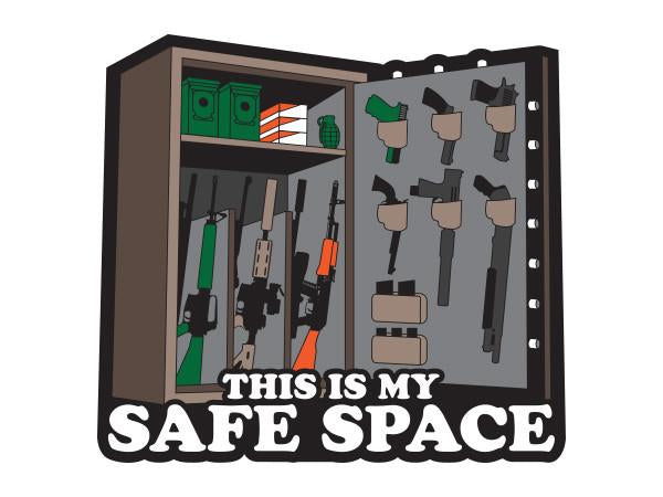 Safe Space Sticker - Patriot Patch co
