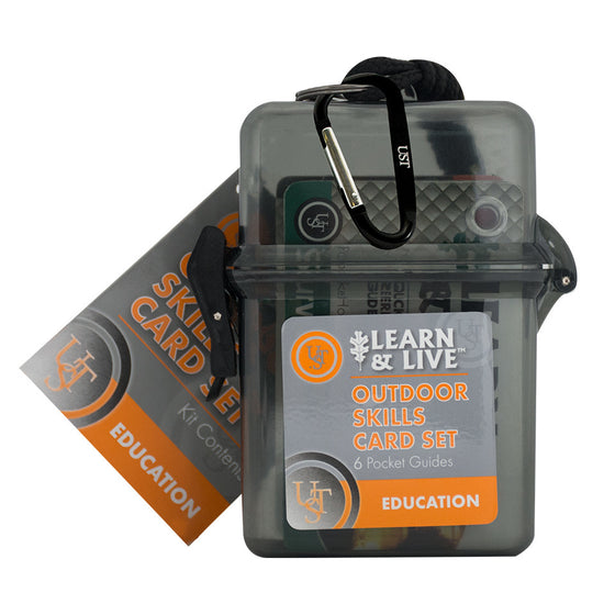 Live & Learn Survival Cards - Outdoor Skills Set