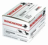 Winchester .223 55GN Boat Tail Soft POINT 50 pack