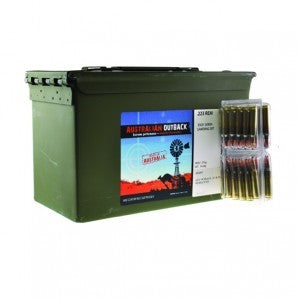 ADI AUSSIE OUTBACK 223 55GN 50 PACK 900 ROUND FULL CAN - 895