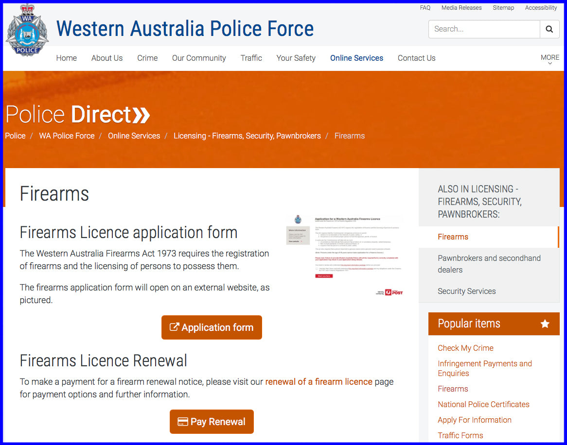 GET YOUR FIREARMS LICENCE