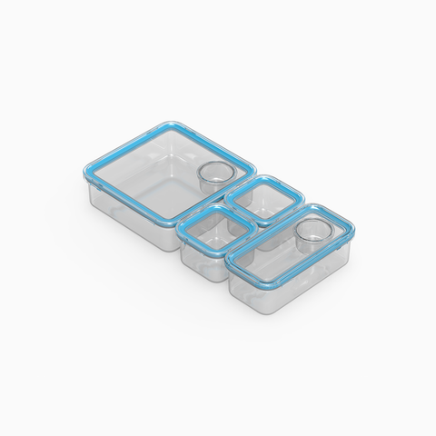 Extra Prepd Containers Set
